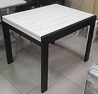 Стол обеденный СЛАЙДЕР венге/Аляска 100(+100)х82см