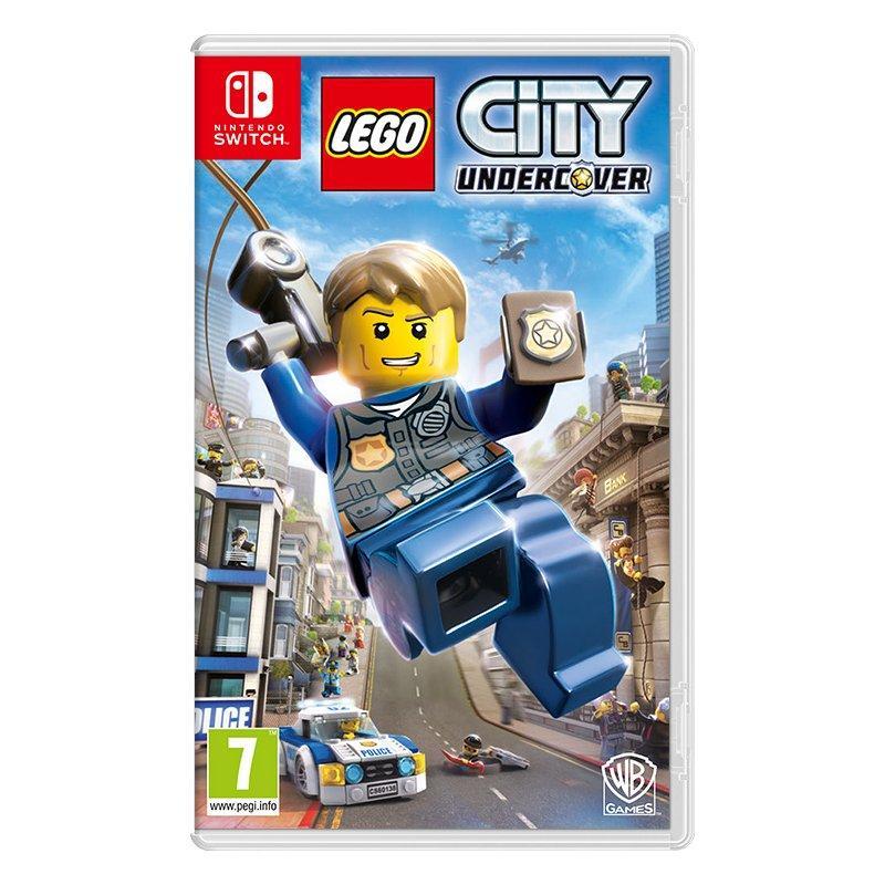 Игра LEGO CITY Undercover для Nintendo Switch (английская версия)