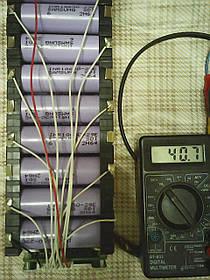 Літієвий акумулятор для електровелосипеда 36В 15Ач (літій-іонний)