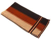 Полотенце махровое  50*90 ВОЛНА 100% хлопка,  (шт.) коричневый