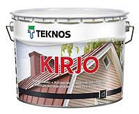 KIRJO полуматовая краска антикоррозийная для листовой кровли, 9л база-3