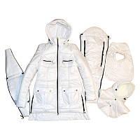 Демисезонная куртка 3 в 1 белая