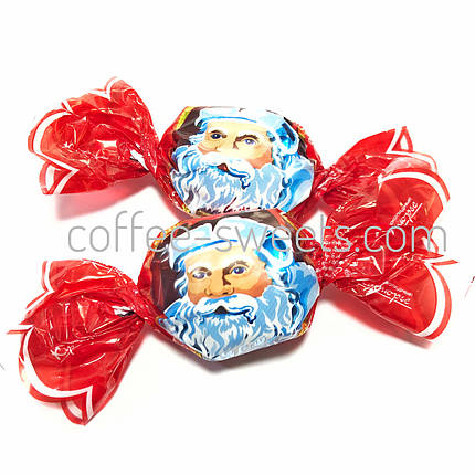 "Шоколадные конфеты Кутюрье (бабочки) ""Дед Мороз"", фото 2"