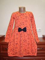 Платье трикотажное для девочки размер  11 лет маломерит