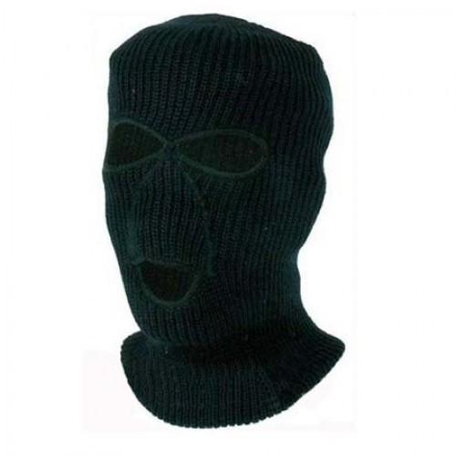 Шапка-маска вязаная Norfin KNITTED (зеленая)