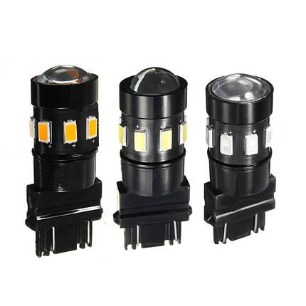 3157 5630 чип 12smd LED янтарь / красный / белый свет сигнала поворота лампы лампы 12В постоянного тока - 1TopShop, фото 2