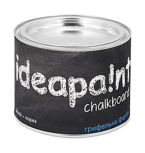 Грифельная краска  ideapaint  0,5 л. черная