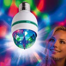 Лампочка для дискотеки LED Mini Party Light