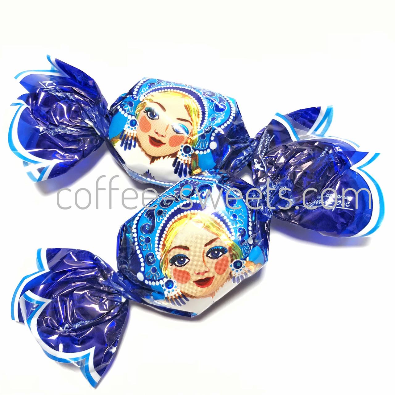 """Шоколадные конфеты Кутюрье (бабочки) """"Снегурочка"""""""