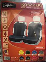 Майки (чехлы / накидки) на передние и задние сиденья (х/б ткань) Dacia Dokker (дачия доккер 2012г+)