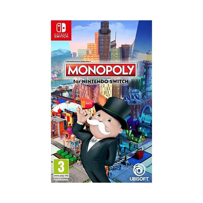 Игра Monopoly для Nintendo Switch (русская версия)