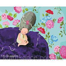 Картина по номерам Гапчинська - Ніжні метелики 40х50 см (в  упаковці)