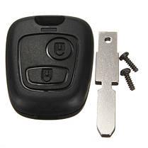 2 кнопка дистанционного ключа оболочки брелок случае лезвие для Peugeot 407 107 205 206 207 307 406 - 1TopShop, фото 3