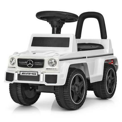 Машинка каталка толкатель толокар Mercedes лицензия, фото 2