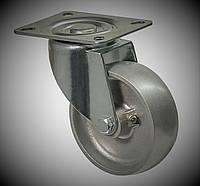 Поворотное колесо из алюминия диаметром 100 мм термостойкое