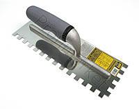 Зубчатая гладилка 380*100мм(зуб 10*10мм) TM Hardy