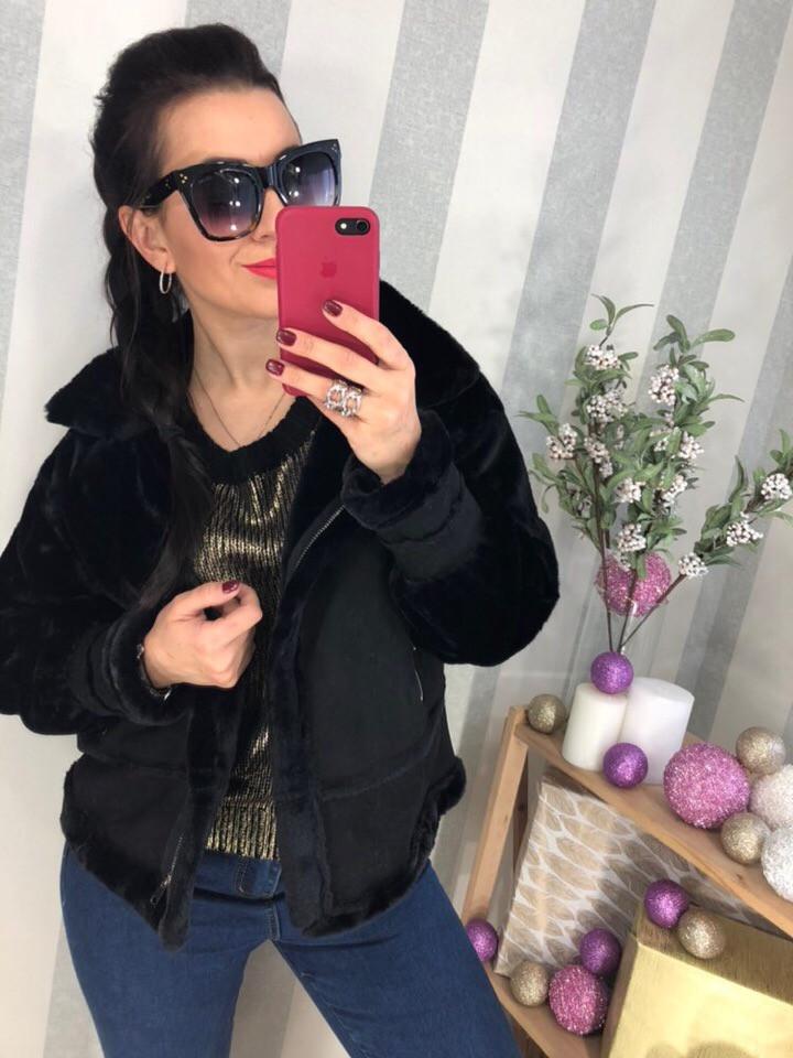 Женская теплая,красивая ,модная курточка - косуха.