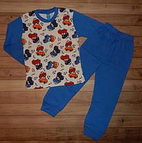 Детская пижама для мальчика Машинист 4-5 лет