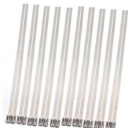 20шт из нержавеющей стали выхлопных изоляционных волокон Стекло обернуть трубкой галстук - 1TopShop, фото 2