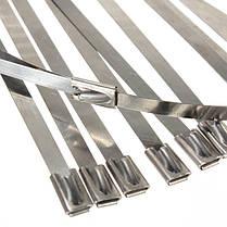 20шт из нержавеющей стали выхлопных изоляционных волокон Стекло обернуть трубкой галстук - 1TopShop, фото 3