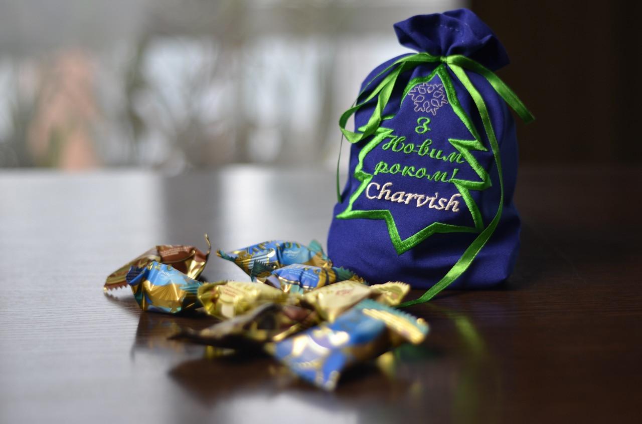 Мішечки для солодких подарунків