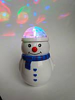 Музичний Сніговик проектор, фото 1
