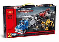 """Конструктор Decool 3365 """"Строительная команда"""" 834 деталей. Аналог Lego Technic 42023, фото 1"""
