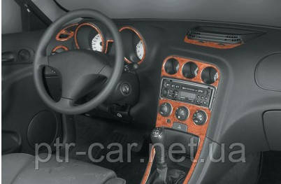 Накладки на панель (Meric) - Alfa Romeo 156 1997-2007 гг.