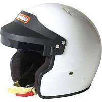 Гоночный шлем RaceQuip OF15 белый размер XL (61-62 см)
