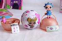 Кукла LOL surprise Glitter Series 5 Глиттер ЛОЛ Сюрприз блестящий шар