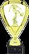 Статуетка футбольна L154, фото 2