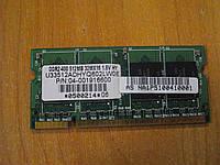 SODIMM DDR2 512Mb оперативная память для ноутбука бу.