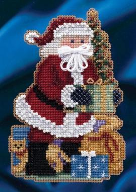 Набор для вышивки Merry Christmas Santa