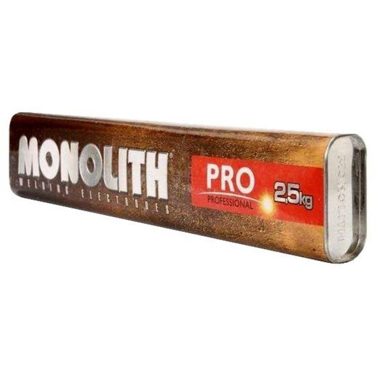 Электроды Монолит Professional 3мм ,2,5кг (тубус)