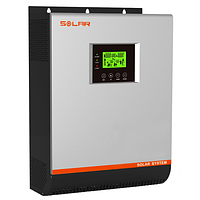 Гибридный инвертор 2400Вт, 24В+МРРТ контроллер 25А Santakups & MUST  PH18-3K МPK