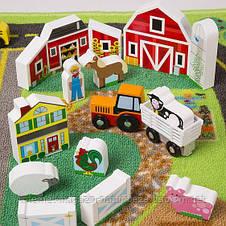 Мега-набір Дорожній килимок/дерев'яні іграшки Melіssa&Doug, фото 3