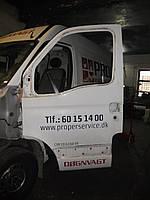 Дверь передняя левая белая на Renault Master, Opel Movano, Nissan Interstar