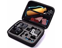 Кейс для хранения экшн камеры и аксессуаров - Black Medium