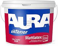 Aura Mattlatex.Стойкая к мытью интерьерная краска. Водоэмульсионная. (белая)