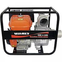 Мотопомпа бензиновая Vitals USK 4-100b Безкоштовна доставка