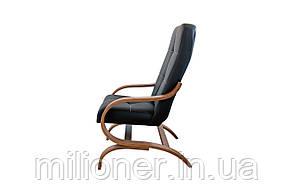 Конференц кресло Bonro Comfort Manila (экокожа черный) , фото 2