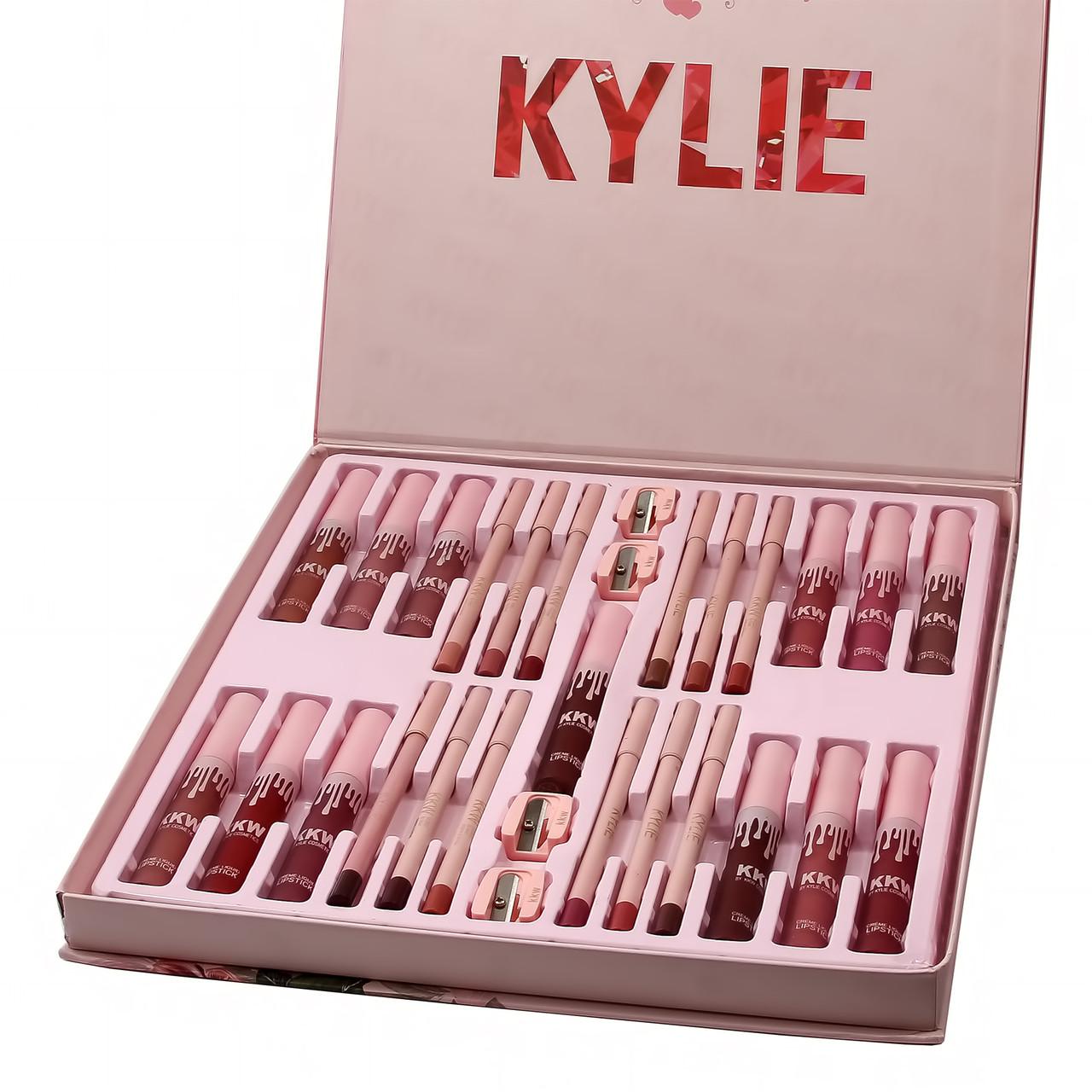 Подарочный набор KYLIE KKW by Kylie Cosmetics 24 in 1