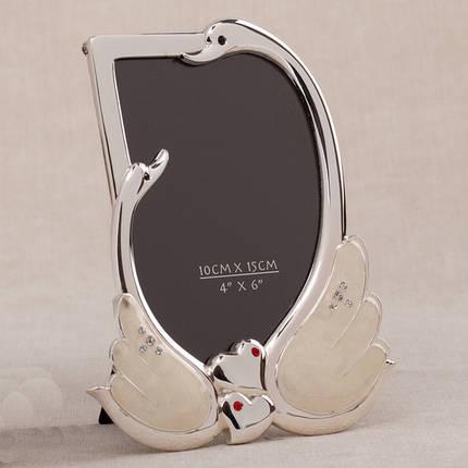 """Фоторамка """"Лебеди"""" (15*19 см), фото 2"""