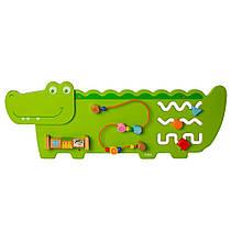 Viga Настольная развивающая игра бизиборд Viga Крокодил 92 см (MD 2013)