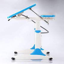 Дитяча парта растишка стіл трансформер Goodwin PALETTE К2 blue Comf-Pro, фото 3