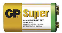 Батарейка Крона Оригинал 6F22 GP АЛКАЛАЙН  SUPER (200/10)