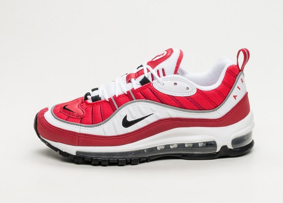 "Кроссовки Nike Air Max 98 Reflective ""Gym Red"" (Красные)"
