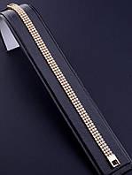 064417 Браслет 'XUPING' Фианит 19 см. (позолота 18к)