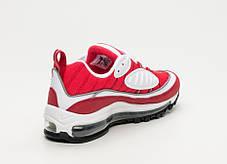 "Кроссовки Nike Air Max 98 Reflective ""Gym Red"" (Красные), фото 3"