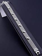056281 Браслет 'XUPING' Фианит 19 см. (родий)